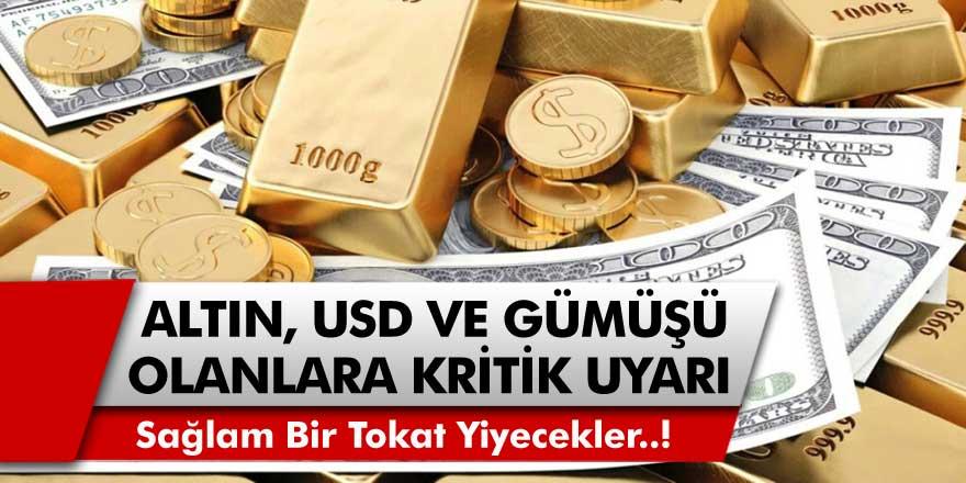 İslam Memiş'ten Dolar, Altın ve Gümüş Fiyatları İçin Bomba Açıklama! Yakın Zamanda Sağlam Bir Tokat Gelecek…