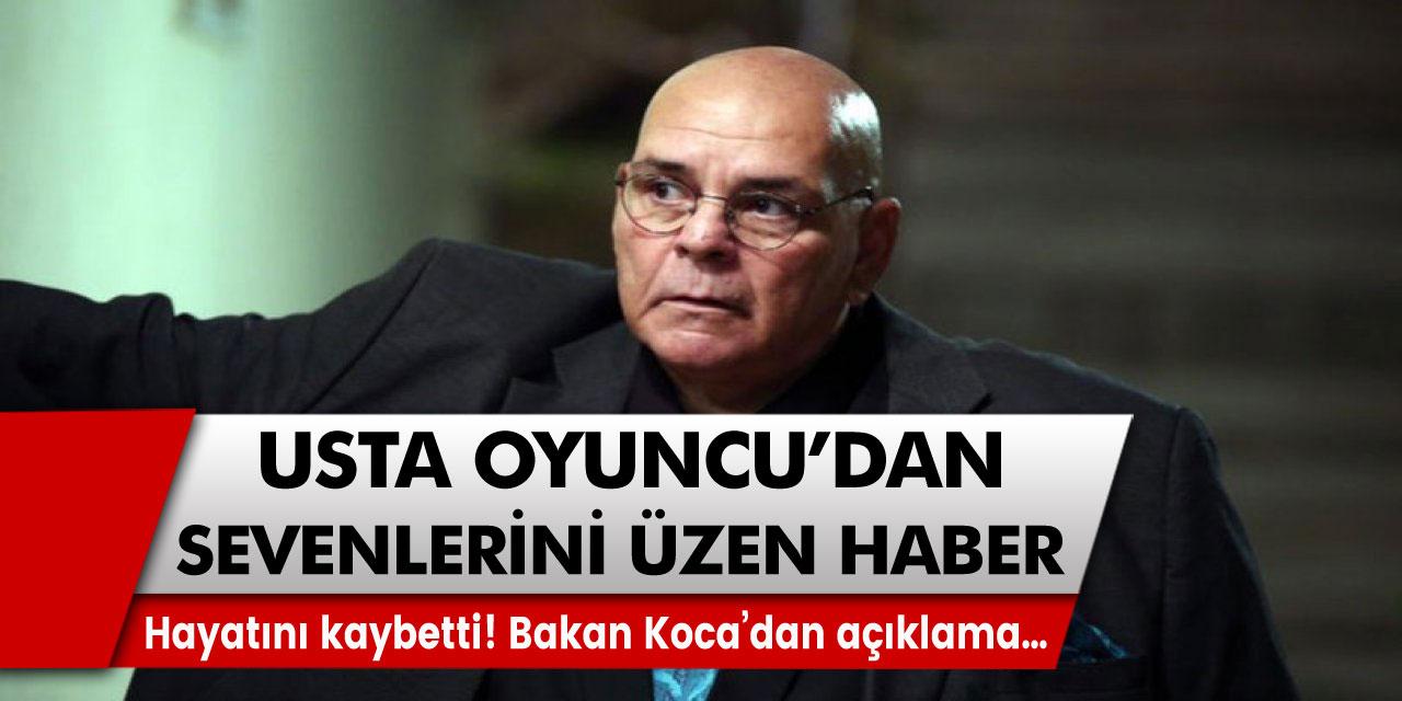 Rasim Öztekin'den sevenlerini üzen haber! Hayatını kaybetti…