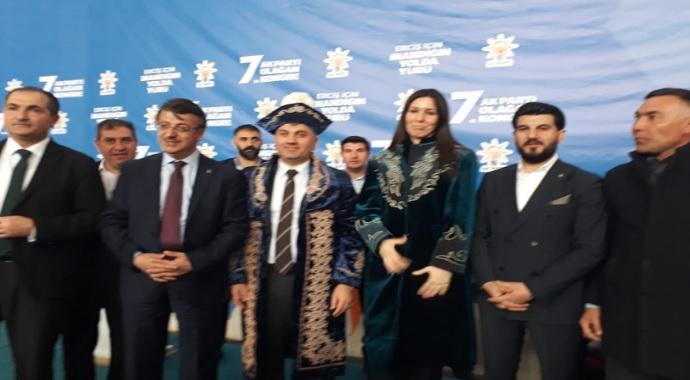 Ak Parti Erciş'te Nedim Sağlam'a emanet