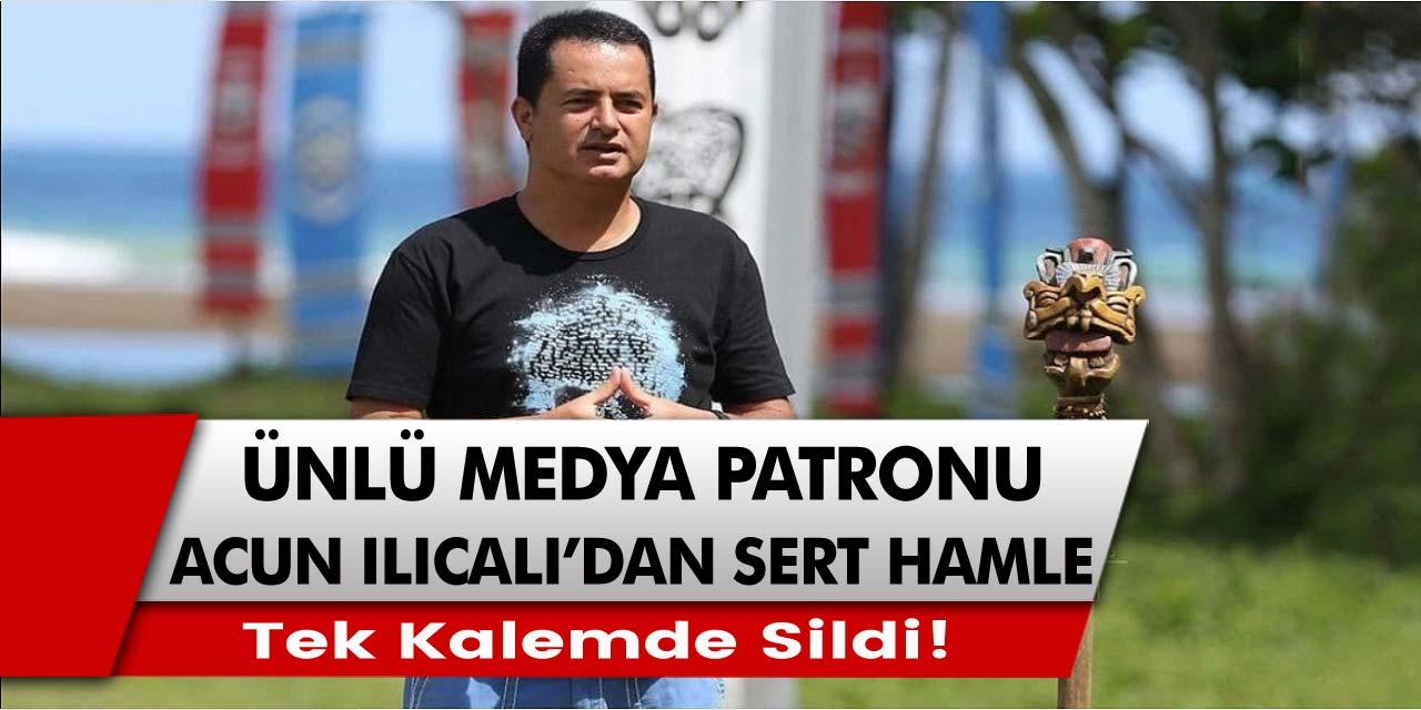 Acun Ilıcalı'dan sert hamle! Barış Murat Yağcı ve Nisa Bölükbaşı'yı sosyal medya hesaplarından sildi…