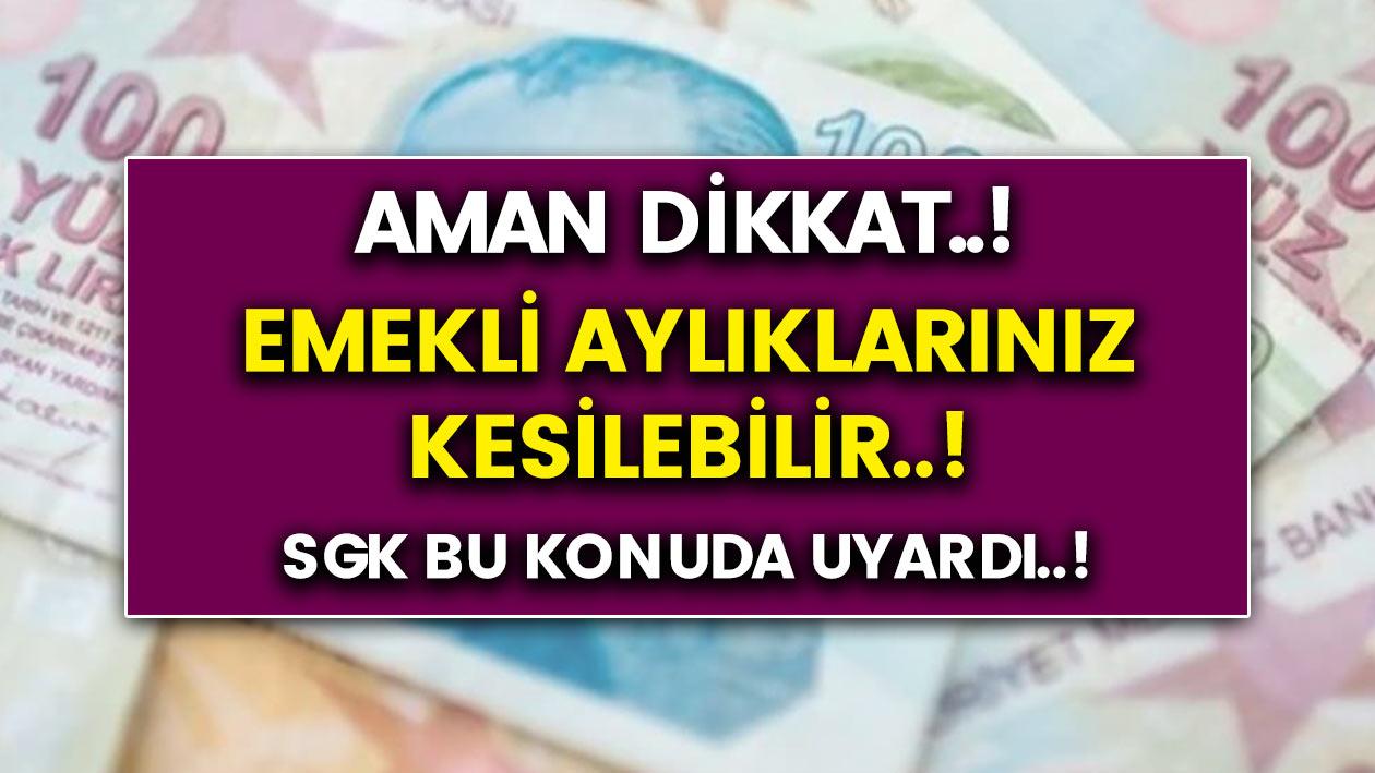 Son Dakika: Birçok kişinin bilmediği şartlar maaşların kesilmesine neden olabilir…