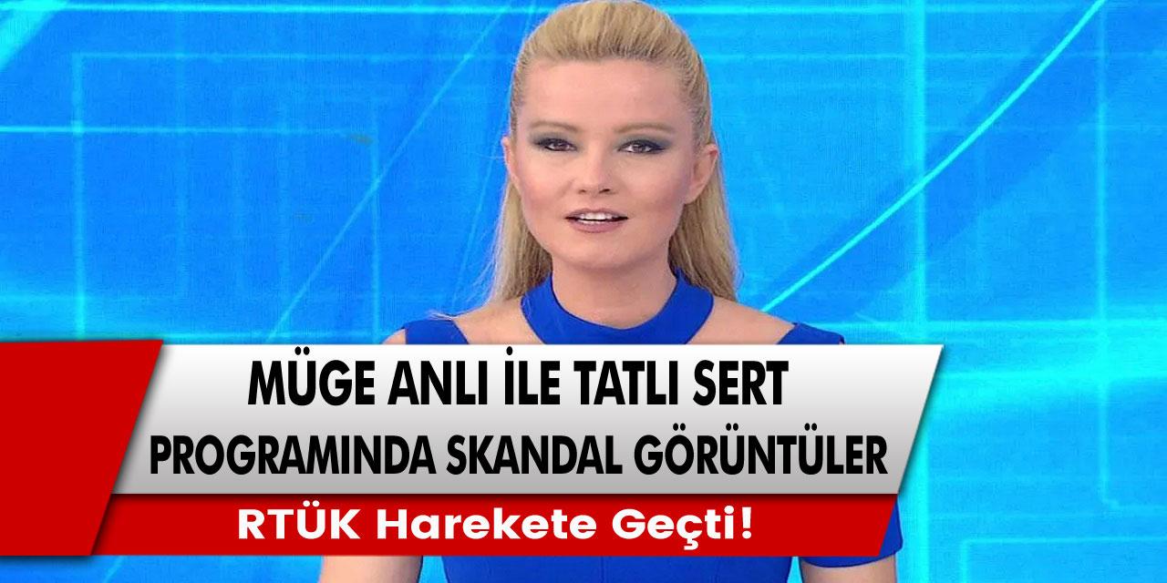 Müge Anlı ile Tatlı Sert programında ekrana gelen skandal görüntüler için RTÜK harekete geçti…