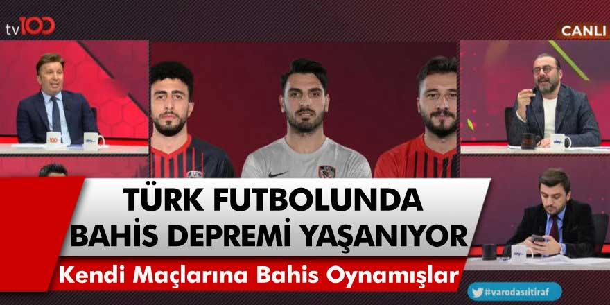 Türk Futbolunda Büyük Deprem! Gaziantep FK'nın 3 Oyuncusu Kendi Maçlarına Bahis Oynadığı İddia Edildi