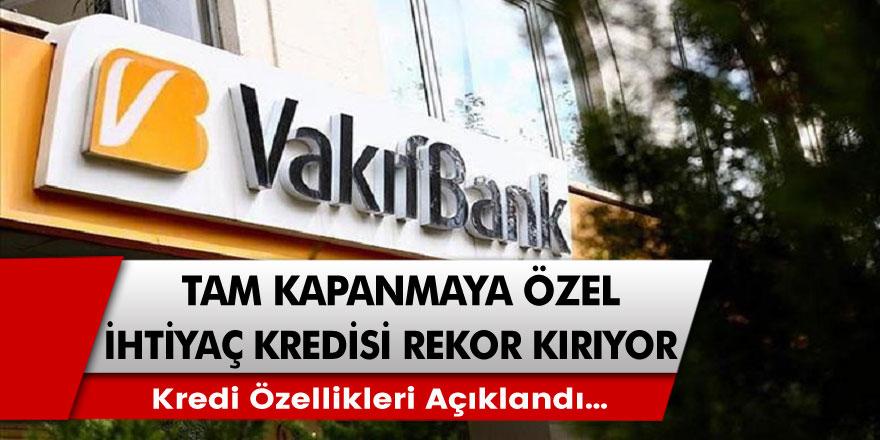 Nefes Aldıracak Kredi Müjdesi! Kamu Bankasından Tam Kapanma Yasakları İçin Özel Kredi Başvuruları Başladı!