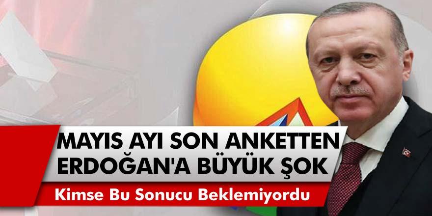Mayıs Ayı Anket Sonuçları Açıklandı! Son Ankette Cumhurbaşkanı Erdoğan'a Çifte Şok