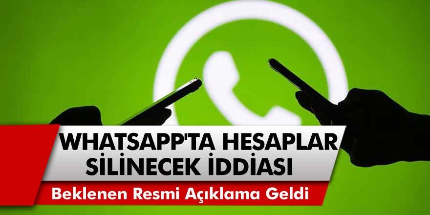Beklenen Resmi Açıklama Geldi: Whatsapp'ta Sözleşmeyi İmzalamayanların Hesapları Silinecek Mi?