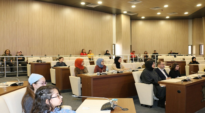 Eyüpsultan Belediyesi Çocuk Meclisi 4. Dönem 6. Toplantısı, Çocuk Meclisi toplandı