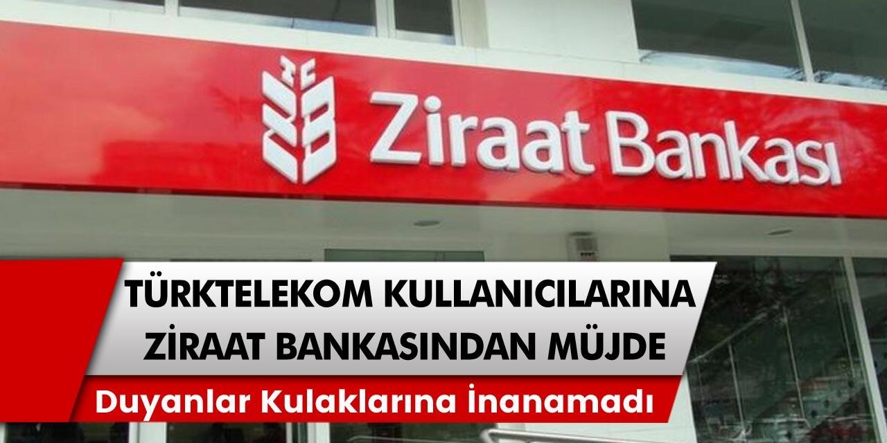 Türk Telekom hat sahipleri için herkesi şaşkına çeviren o açıklama: Ziraat Bankası'ndan gelen duyuru duyanların kulaklarına inanamamasına neden oldu…