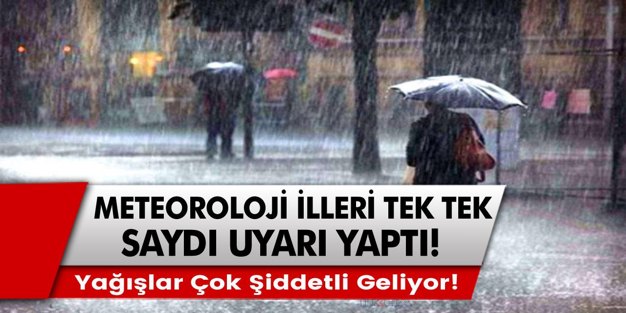 Meteoroloji'den çok kritik 'kıyamet' uyarısı: Sel, su baskını, fırtına! Dikkatli Olun!