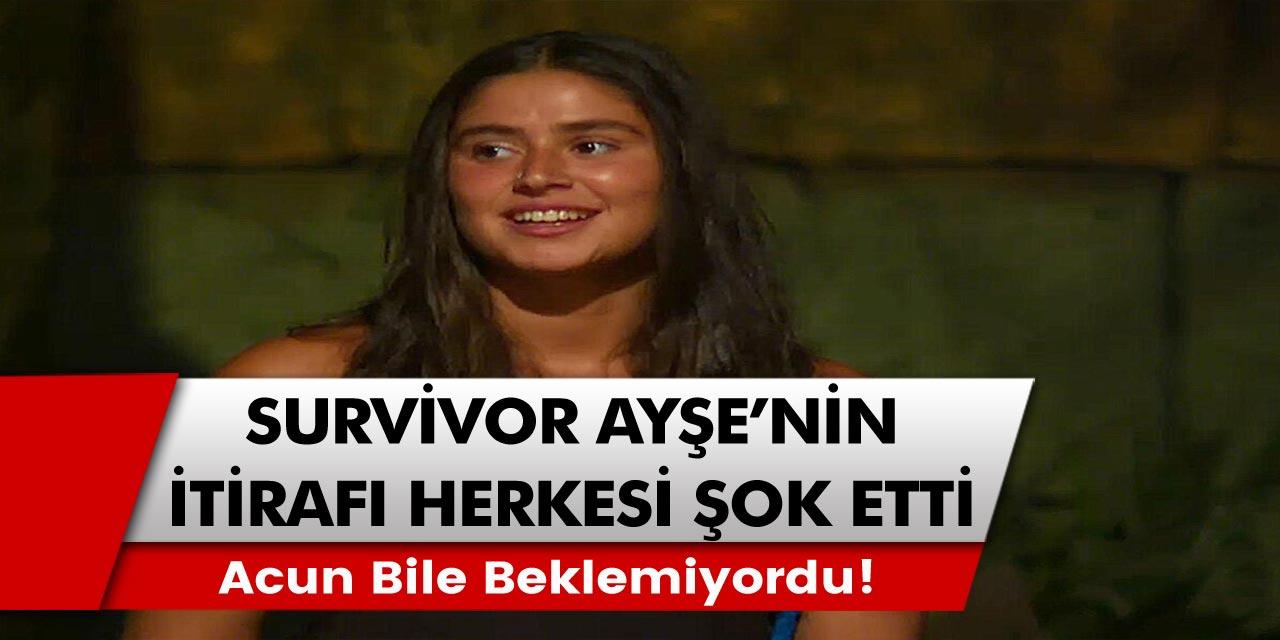Survivor Ayşe Yüksel'in itirafı herkesi şok etti! Acun Ilıcalı bile bu itirafı beklemiyordu!