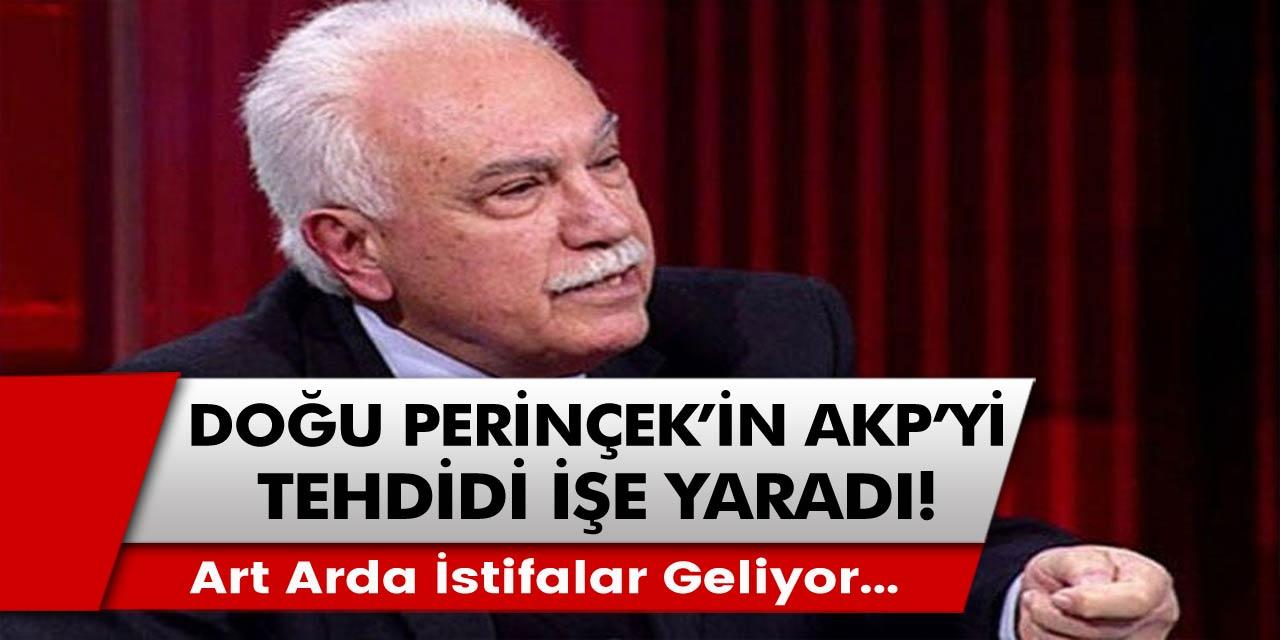 Art arda istifalar geliyor... Berat Albayrak tarafında ortalık karıştı! Doğu Perinçek'in AKP'yi tehdidi işe yaradı!
