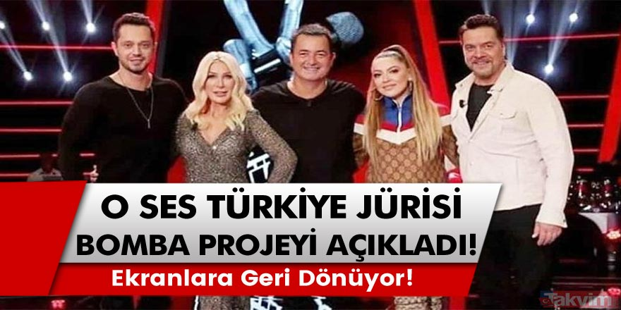 O Ses Türkiye jürisinden bomba haber! Uzun bir aradan sonra tekrar ekranlara geri dönüyor!