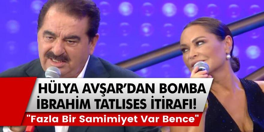 """Hülya Avşar'dan bomba İbrahim Tatlıses itirafı! """"Fazla bir samimiyet var bence"""""""