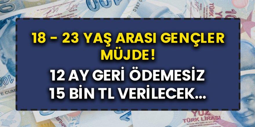 Gençler için açıklama: Devlet kanadından karşılıksız olarak verilecek ödemeler…