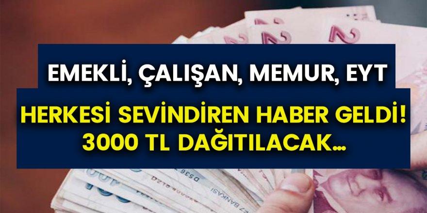 Hükümet kanadından müjde: Hesaplarını anında kontrol edenler 3 ay boyunca 3 bin TL ödeme alabilecek…