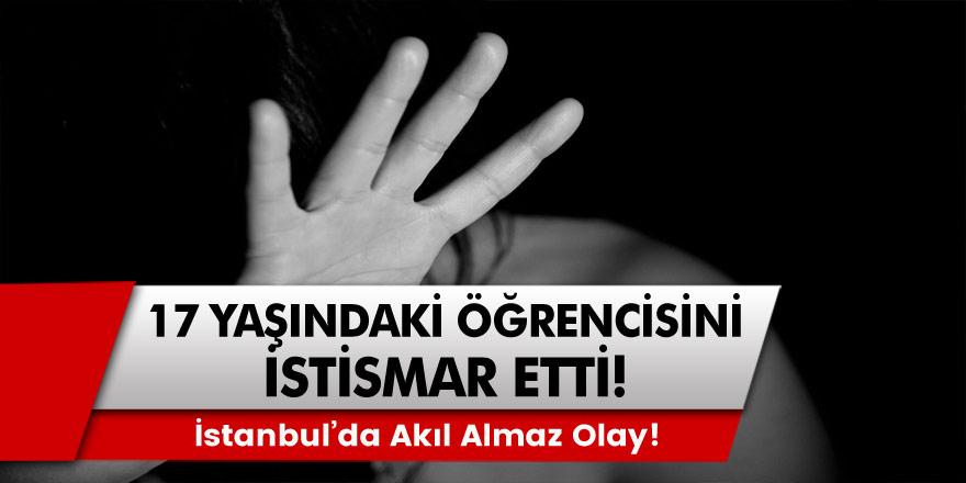 İstanbul'da akıl almaz olay: Öğretmeni ile ilişkiye girdiğini söyleyen öğrenci…