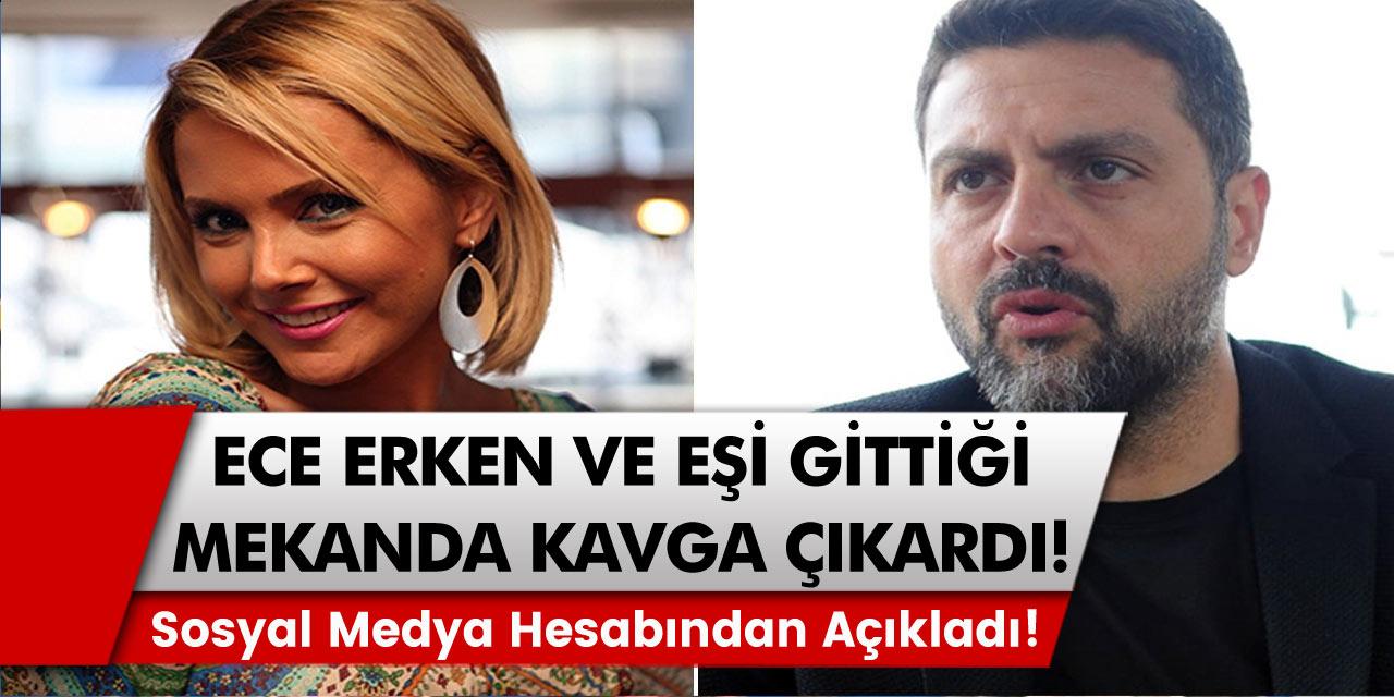 Ece Erken ve eşi Şafak Mahmutyazıcıoğlu 20 bin liralık hesap gelince sitem etti, kavga çıktı!