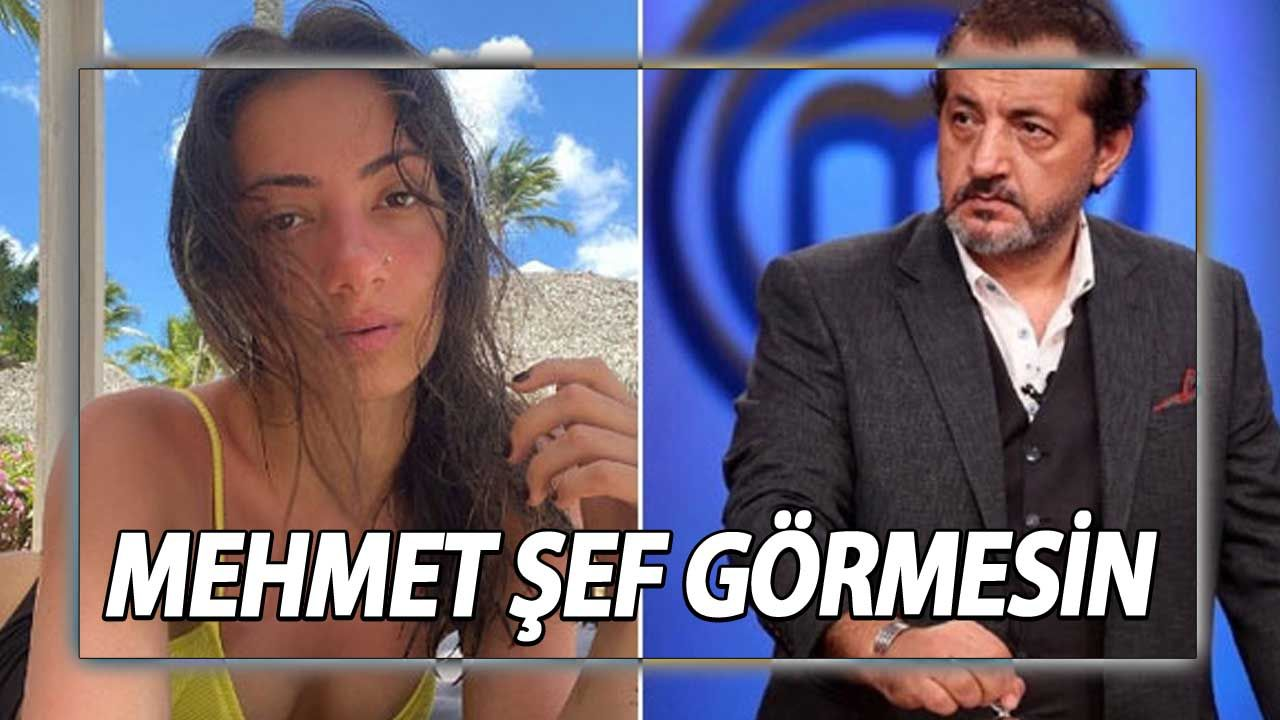 Sen Neymişsin Be Sude! MasterChef Mehmet Şefin Kızı Sude Yalçınkaya Öyle Bir Poz Verdi Ki! görenlerin ağzı açık kaldı
