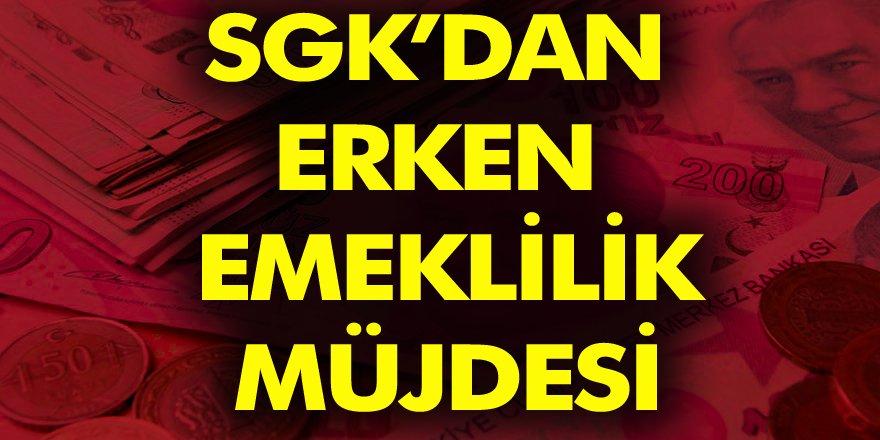 Erken Emeklilik Müjdesini SGK Duyurdu! SSK ve Bağkurlu Vatandaş 1800 Gün Prim Ödediklerinde Emekli Olabilecek!