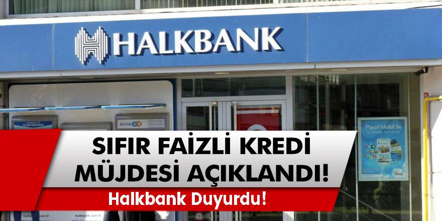 Halkbank Duyurdu! Türkiye Kadınlarına Sıfır Faizli Kredi Müjdesi Açıklandı 100.000 TL