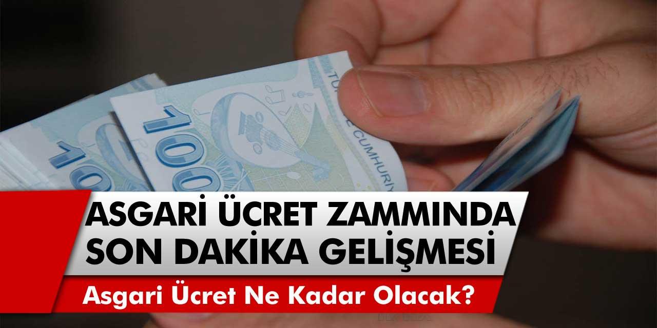 Asgari Ücret Zammı Ne Olacak? Erdoğan'dan Gelir Vergisi Jesti Gelecek mi? 2022 Zammı ile Maaş 3.937 TL olacak mı?