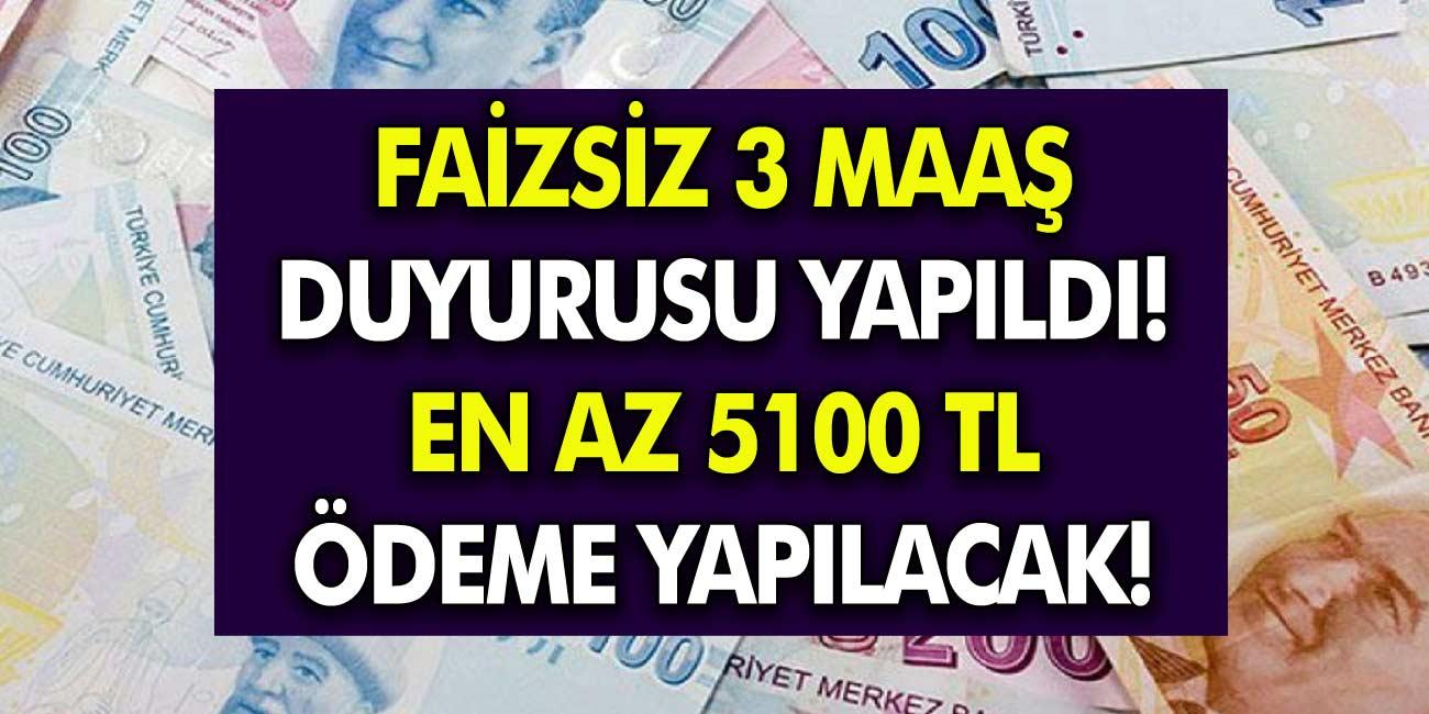 Emekli vatandaşlara En Az 5 Bin TL Faizsiz Ödeme müjdesi! 3 Maaş Müjdesi verildi, Başvurular Başladı…