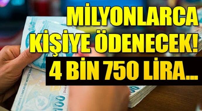 Milyonlarca kişi bekliyordu. İmzalar atıldı emekli sandığı! Milyonlarca kişiye 4 bin 750 lira ek ödeme!