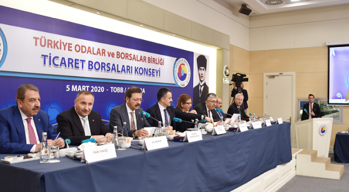 Ticaret Borsaları Konseyi toplantısını  Başkan Kasapoğlu değerlendirdi