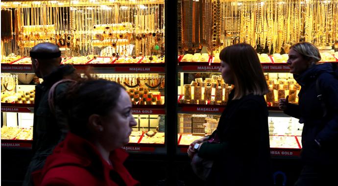 Altın son fiyatları Serbest piyasada altın fiyatları