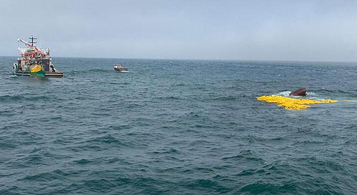 Türk Teknesi Moritanya Sularına Gömüldü!