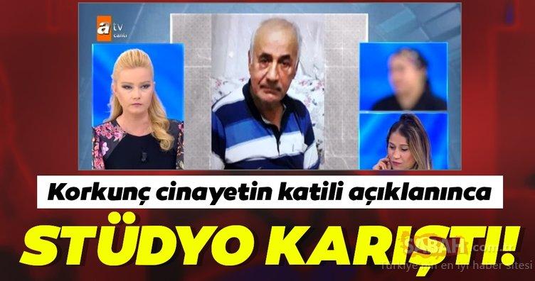 Üvey babalarının katilini Müge Anlı canlı yayınında açıkladılar!