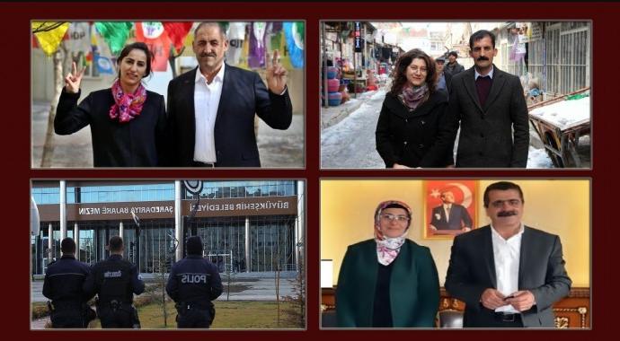 HDP'li üç belediye eş başkanlarına gözaltı!