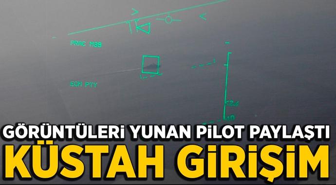 Ege denizinde neler oluyor! Türkiye ve Yunan savaş uçakları...