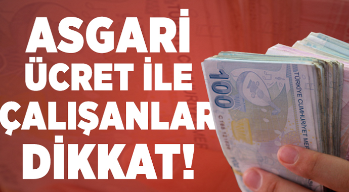 Türk-İş Asgari Ücret Rakamını Açıkladı!