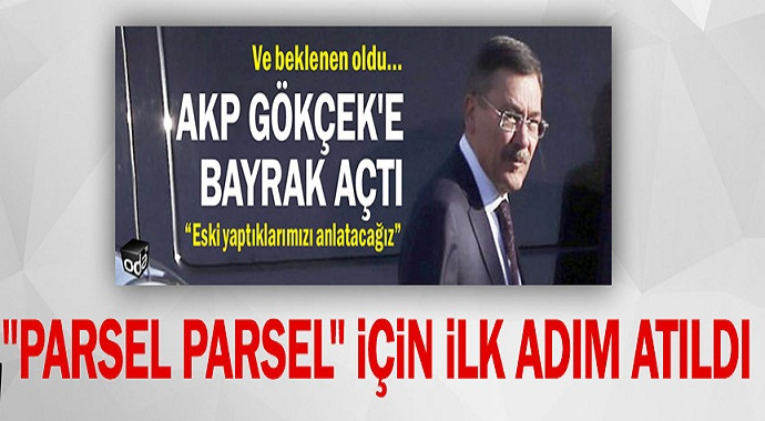 AKP Melih Gökçek'e Bayrak Açtı!