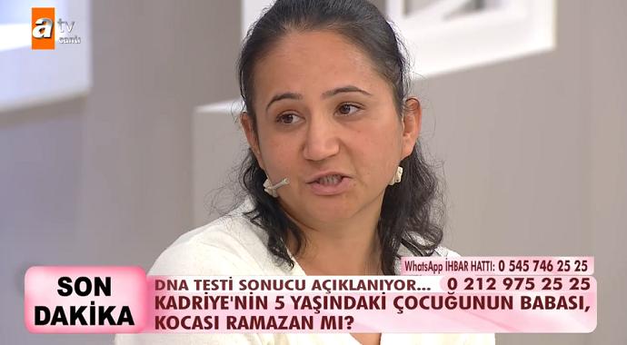 Esra Erol'da Kadriye'nin 5 Yaşındaki Oğlu'nun Babası Kocası Ramazan Çıktı!
