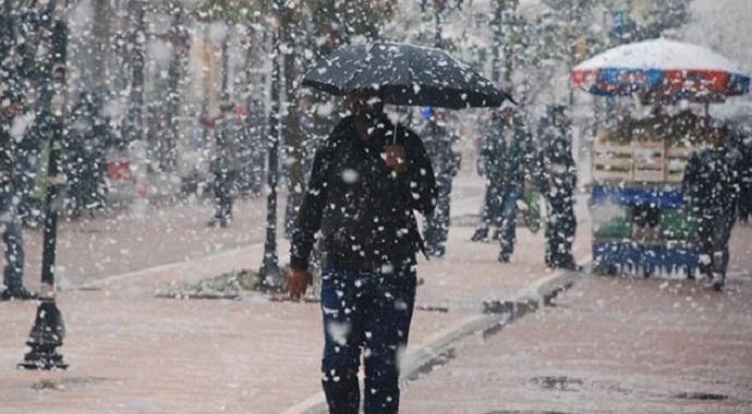 Meteoroloji'den sağanak yağış ile kar uyarısı geldi!