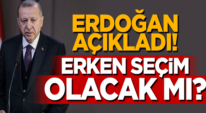 Erdoğan Seçim Tarihini Açıkladı!