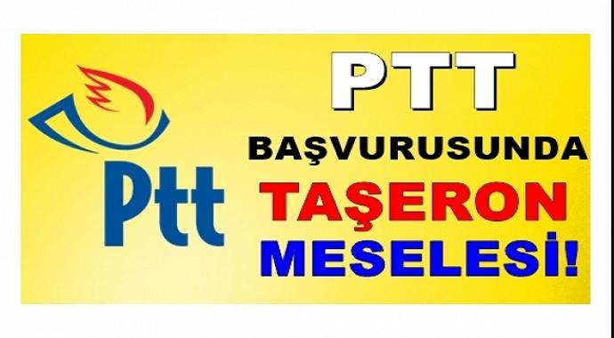 PTT Personel Alımında Taşeron Ayrıntısı Belli Oldu