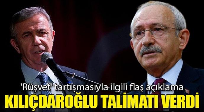 Kılıçdaroğlu'ndan Yavaş'a talimat 'Rüşvet' tartışmasıyla ilgili flaş açıklama!