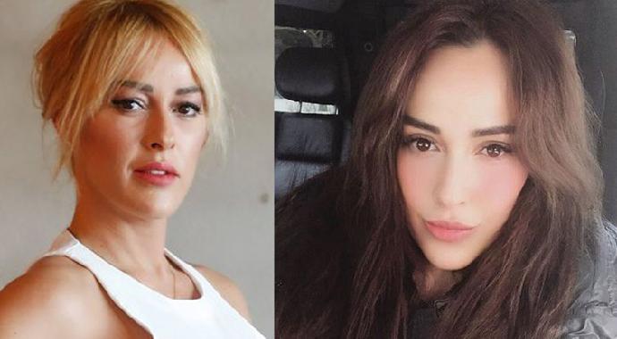 Hülya Avşar'ın kız kardeşi Helin Avşar estetiğin dozunu kaçırdı!