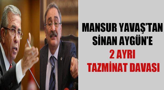 Mansur Yavaş'tan Sinan Aygün'e Tazminat Davası Açtı