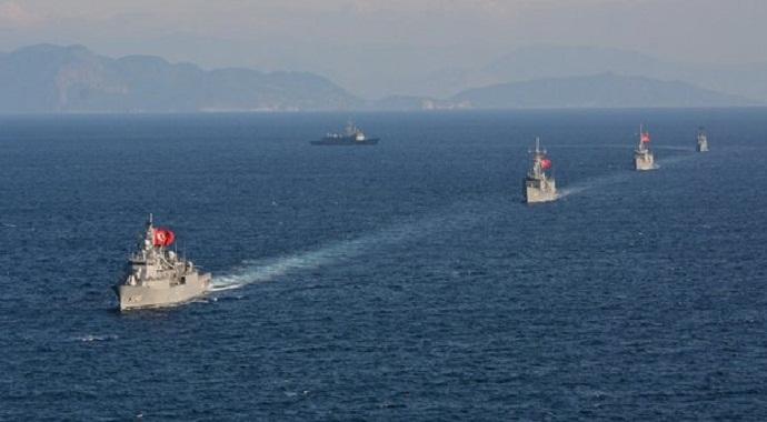 Savaş gemileri yola çıktı MSB duyurdu!
