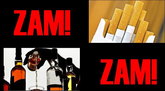 Alkollü içki ve sigara vergisiyle ilgili önemli karar! Peki Alkollü içki ve sigaraya zam gelecek mi?