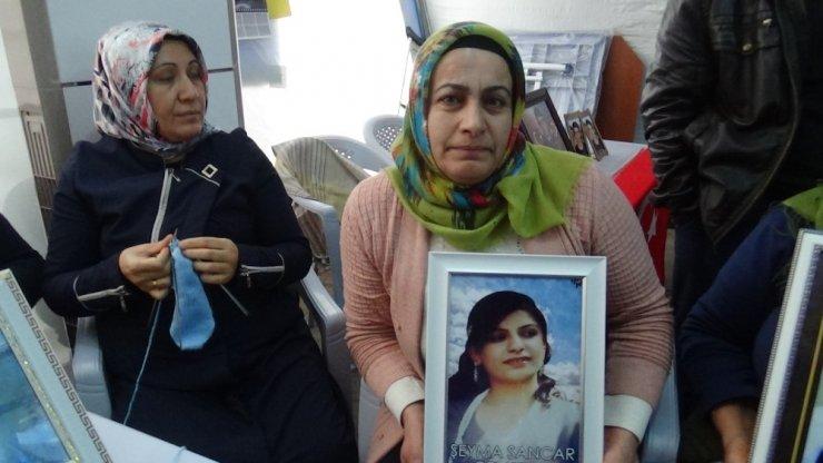 HDP önündeki ailelerin evlat nöbeti 155'inci gününde