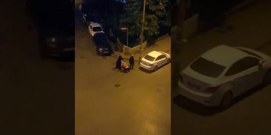 Bakırköy'de 'artık yemek alırım' diyen kadının görüntüsü yürekleri sızlattı